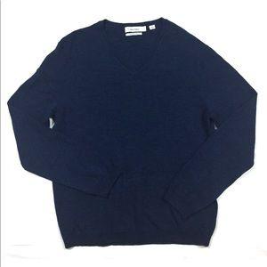 Calvin Klein merino wool sweater medium